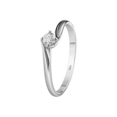 Anello Dream in Oro Bianco e Diamanti