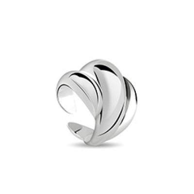 Anello in argento con diamante