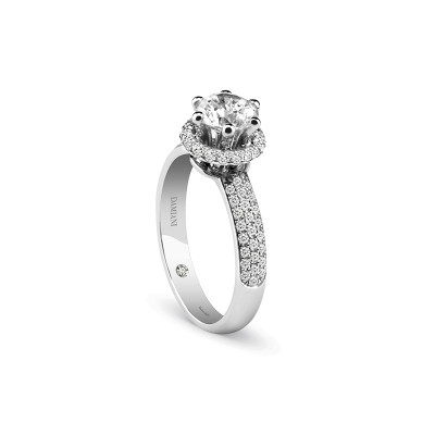 Anello di fidanzamento in platino