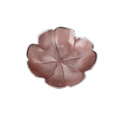 Ciotola Quadrifoglio Rosa Cipria