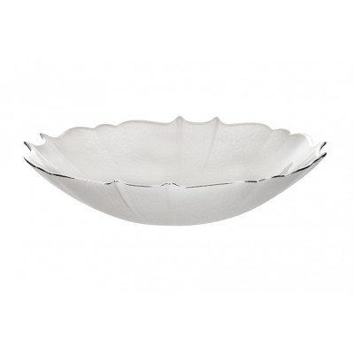 Ciotola Settecento color bianco perla