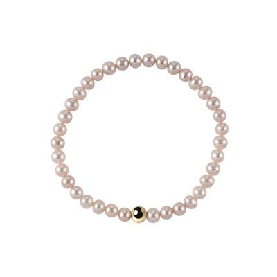 Bracciale Perle Fiume Rosa