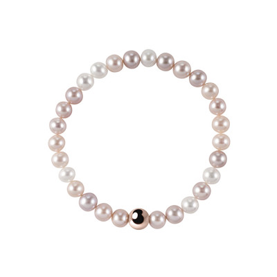 Bracciale Perle Fiume Multicolor
