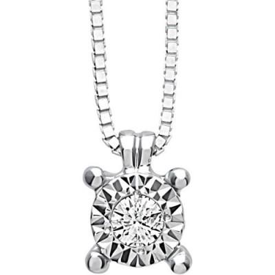 Collana Rugiada con diamanti 0,03 carati