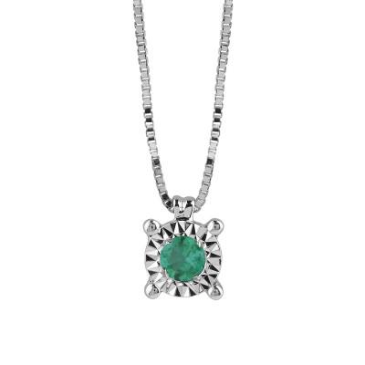 Collana Rugiada con Smeraldo