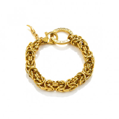 Bracciale Maglia Bizantina oro