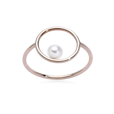 Anello Pearl Circle