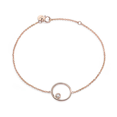 Collana Circle Diamond