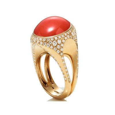 Anello Cherie Corallo rosso