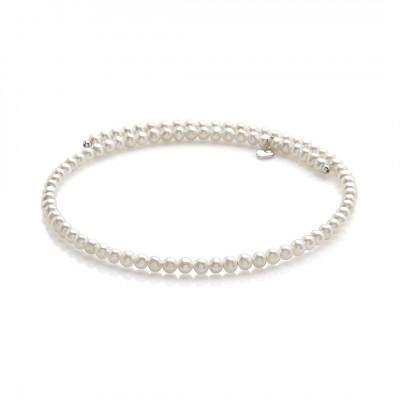 Collana perle e argento