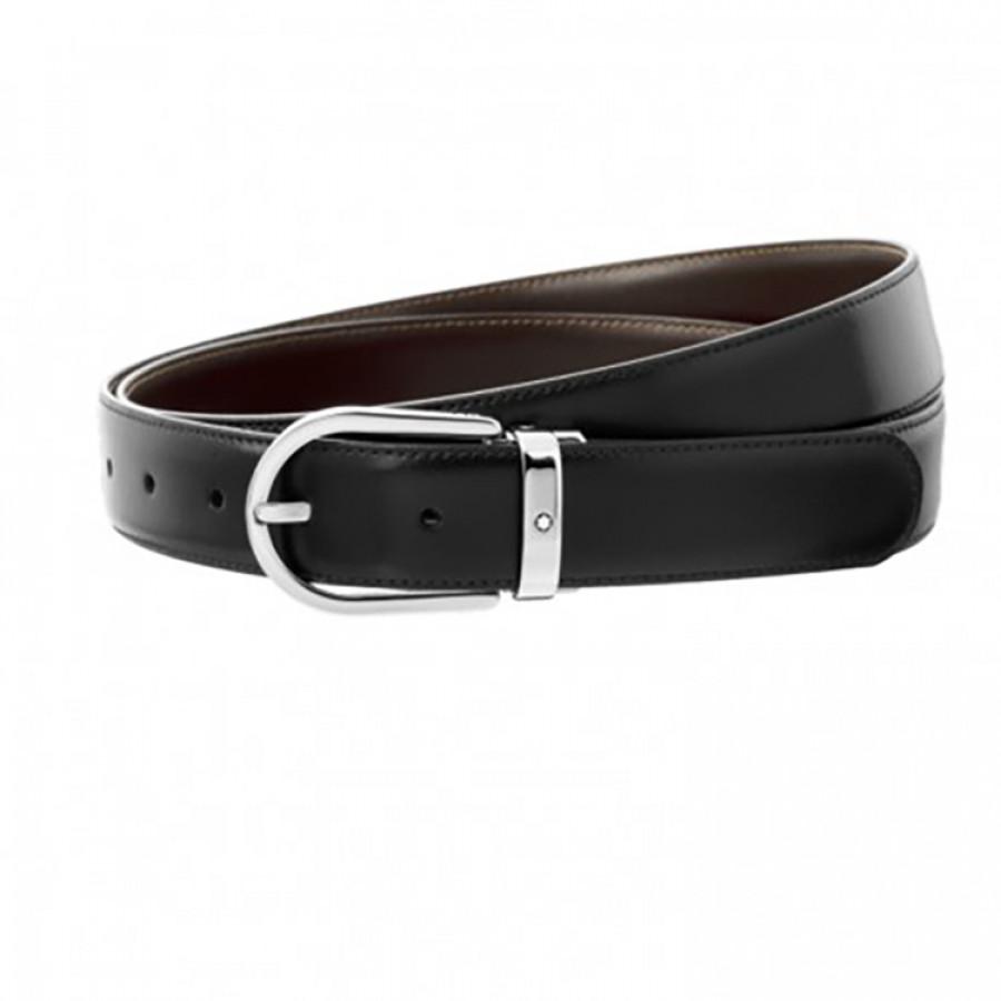informazioni per 6bce5 c4eb5 Cintura elegante nera/marrone reversibile su misura