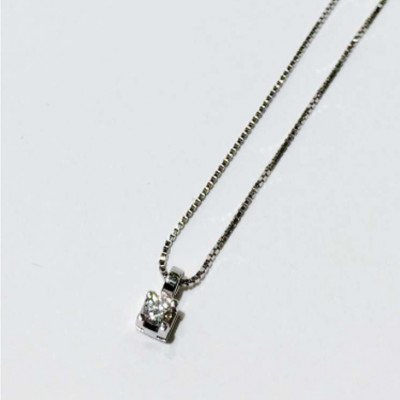 Collana con Diamante 0,05 Ct
