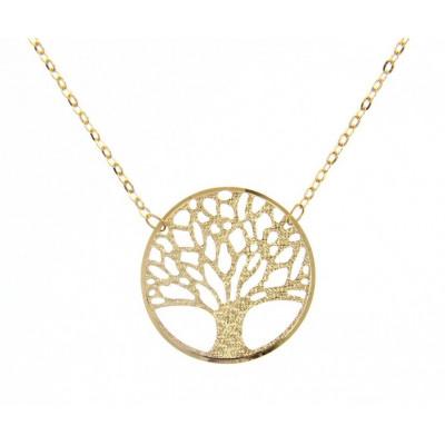 Girocollo albero della vita oro giallo