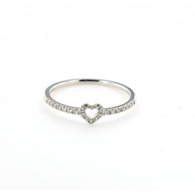 Anello Tiny Cuore Diamanti