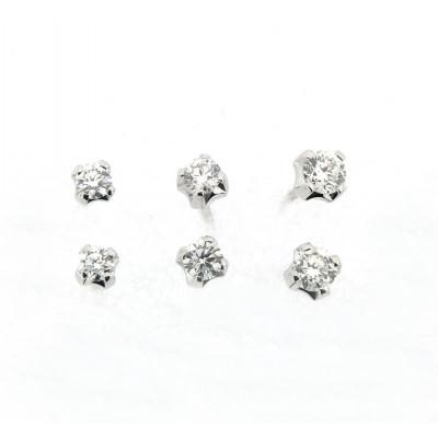 Orecchini Punti Luce Diamanti