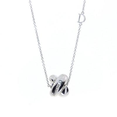 Collana in argento e diamanti