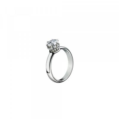 Anello solitario Minou con diamante ct 1,01 colore G VS