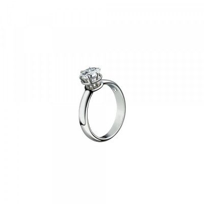Anello solitario Minou con diamante ct 1.00 G VS2