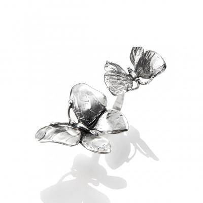 Anello Due Farfalle