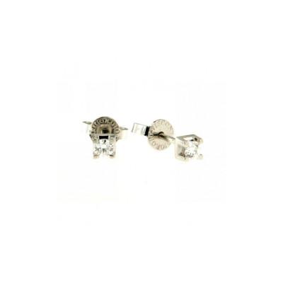 Orecchini Oro Con Diamanti 0,18 Ct
