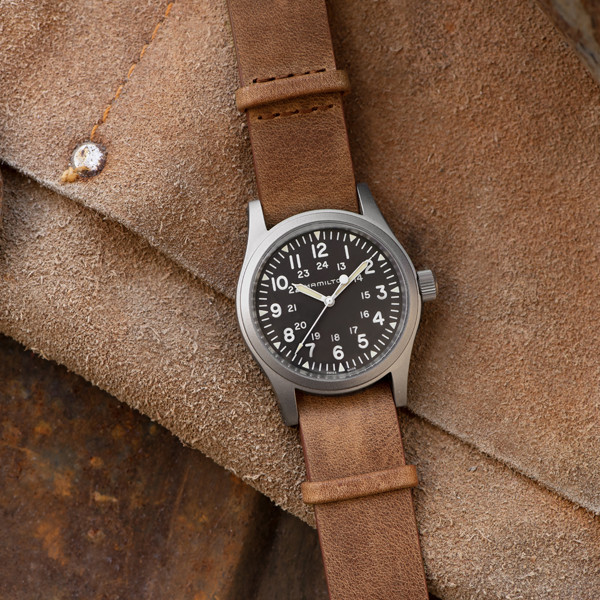 Hamilton Khaki Field Mechanical pelle