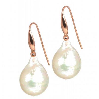 Orecchini perle bianche