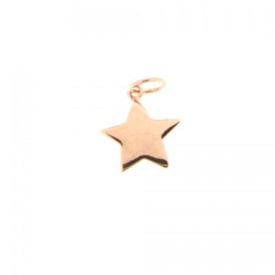 Ciondolo Stella oro rosa