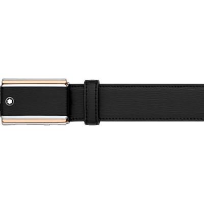 Cintura nera elegante cut-to-size