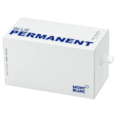 Boccetta d'inchiostro, blu indelebile, 60 ml, DIN ISO 14145-2