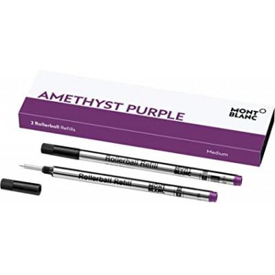 2 refill per roller (M) Amethyst Purple (ametista)