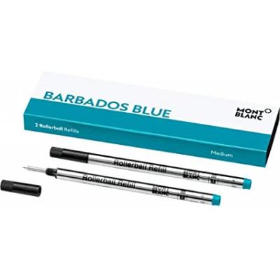 2 refill per roller (M) Barbados Blue (Blu Caraibi)