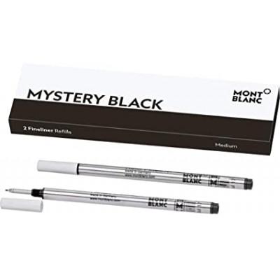 2 refill per fineliner (M) Mystery Black (nero)