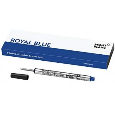 1 refill per roller sistema senza cappuccio (M) Royal Blue (blu)