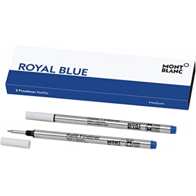 2 refill per fineliner (M) Royal Blue (blu)