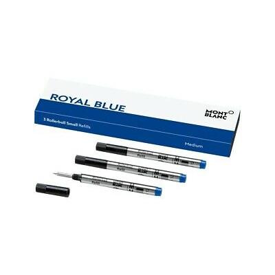 3 refill piccoli per roller (M), Royal Blue (blu)