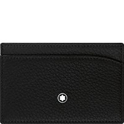 Porta carte di credito tascabile 3 scomparti Meisterstück Soft Grain