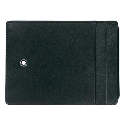 Custodia Meisterstück tascabile 4 scomparti e portadocumento