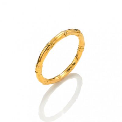 Bangle Bambù piccolo oro