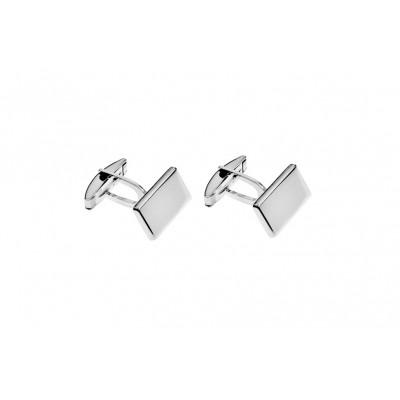Gemelli forma rettangolare argento