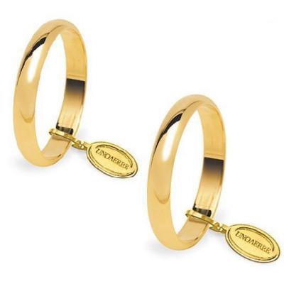 Fedi classiche oro giallo