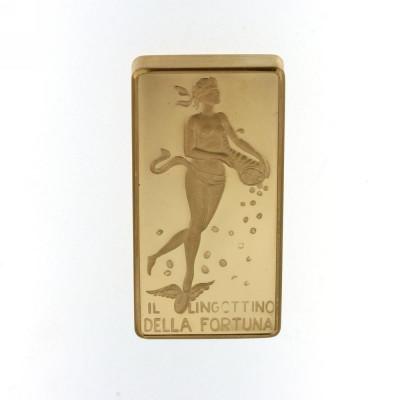 Lingotto della Fortuna  20gr Oro 750 18 kk